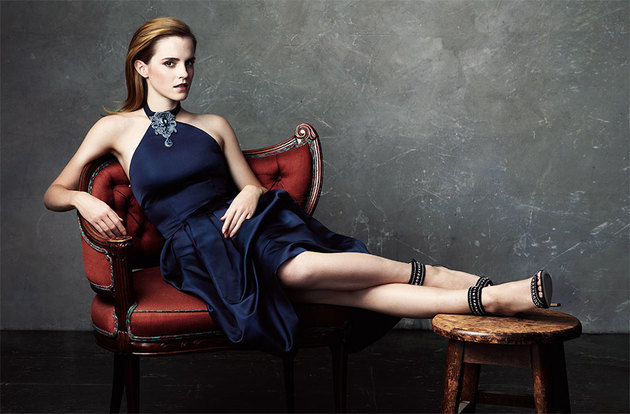 Emma Watson for Net-a-Porter The Edit Issue