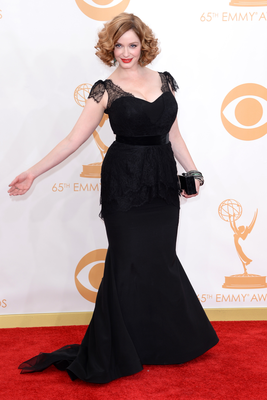 Christina Hendricks  Emmy Awards 2013