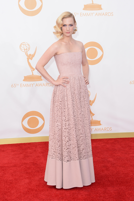 January Jones  Emmy Awards 2013