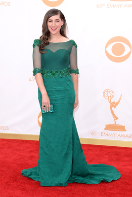 Mayim Bialik  Emmy Awards 2013