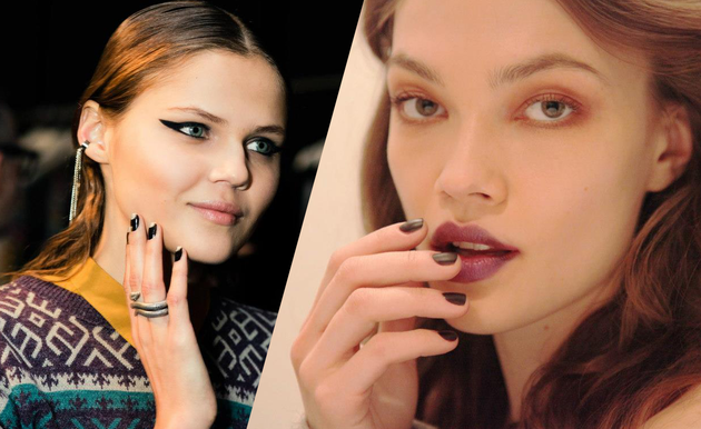Fall 2013 Runway Nail Art Designs & Color Trends