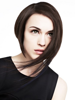 Asymmetrical Bob Hairstyle