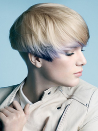 Bowl Cut Pixie Hairstyle