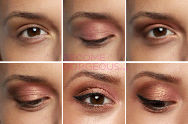 Hazel Eyes Makeup Step By Step