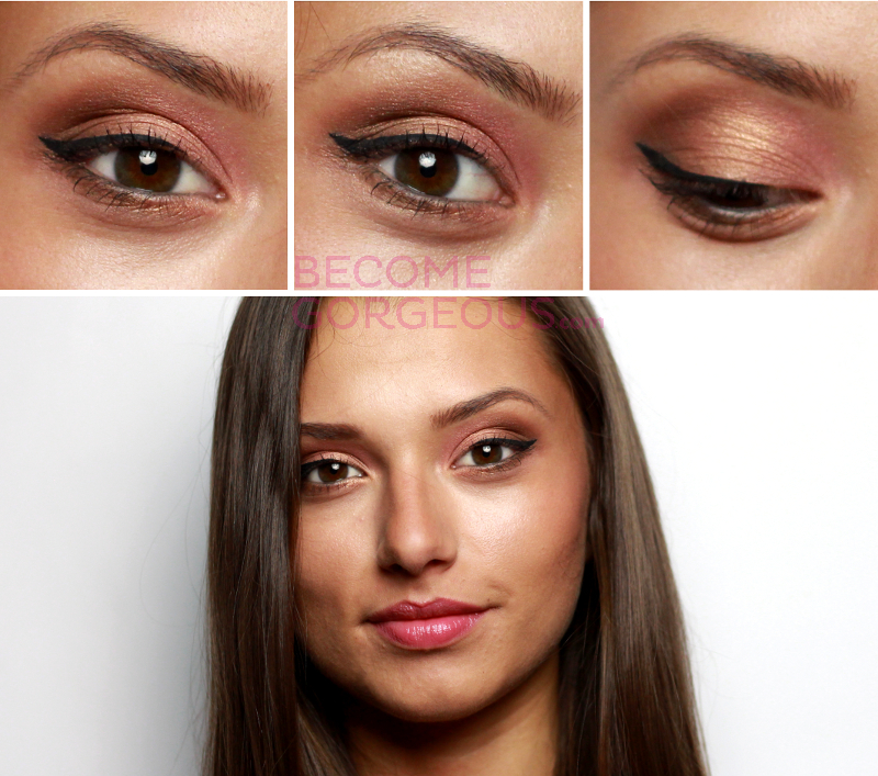 Eye makeup transfers
