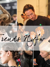 Hair Trends From New York Fashion Week Spring 2014