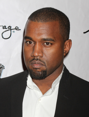 Kanye West Short Hairstyle For Black Men