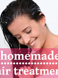 Home Hair Treatments for Shiny, Healthy Hair!