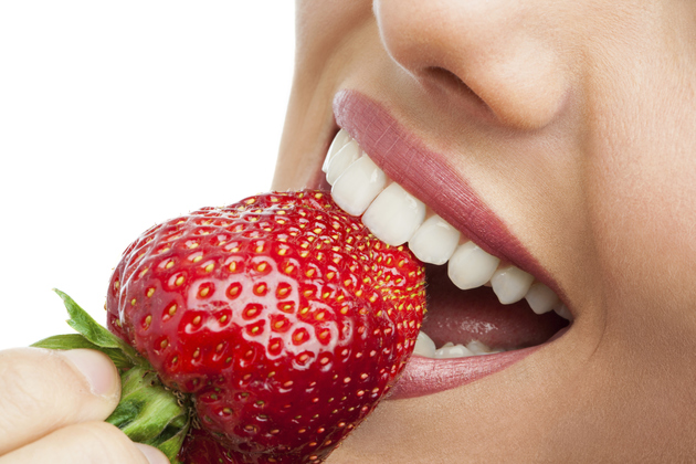 Strawberries As Teeth Whiteners