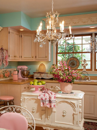 Vintage Kitchen Design 2014