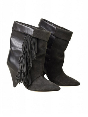 Isabel Marant For Hm Fringe Boots