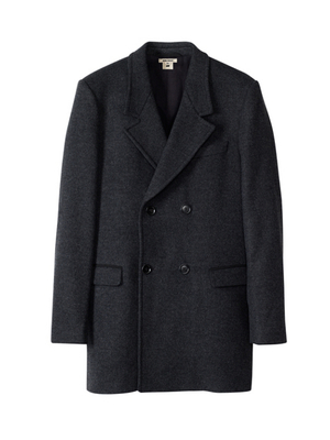 Isabel Marant For Hm Oversized Coat Dark