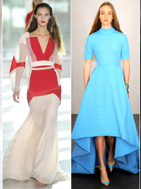 London Fashion Week Spring 2014 Trends: Elegant & Feminine