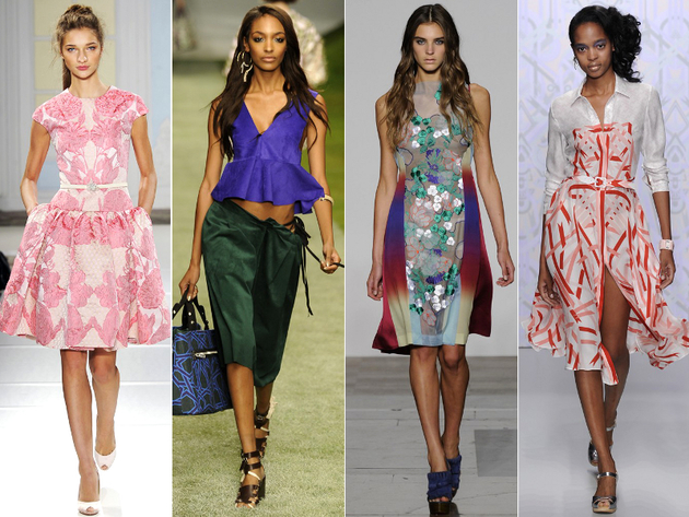 London Fashion Week Spring 2014 Trends: 60s & 70s
