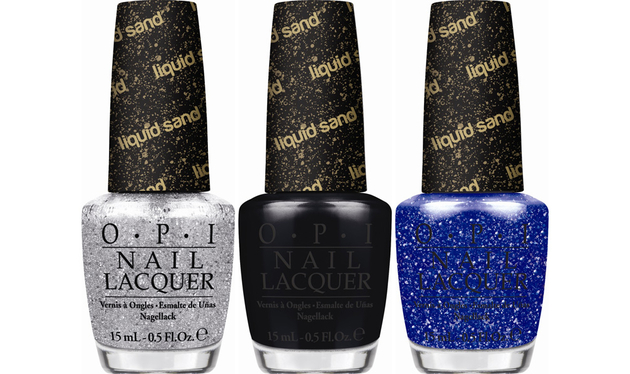 Opi Mariah Carey Holiday 2013 Liquid Sand Nail Polishes