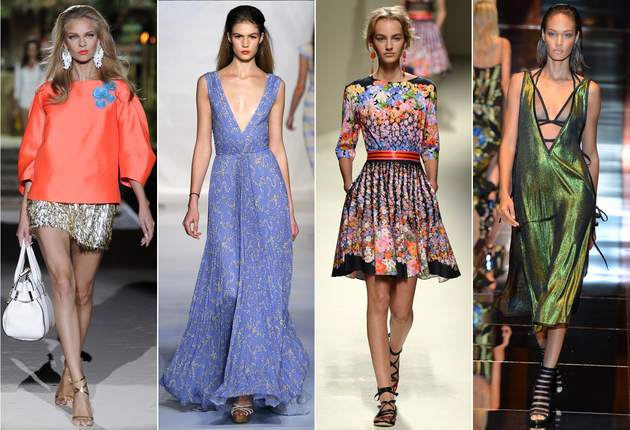 Milan Fashion Week Spring 2014 Trends: Feminine & Playful