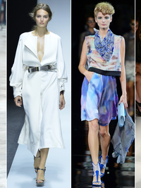 Milan Fashion Week Spring 2014 Feminine Collections