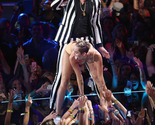 MTV released the Miley Cyrus' first interview after her controversial VMAs performance. See what the star had to say!