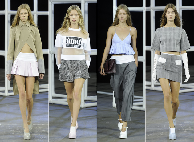 Alexander Wang Spring 2014 Collection