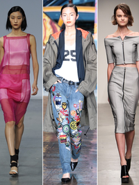 NYFW Spring 2014: '80s and '90s Inspired Collections