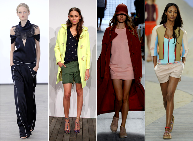 NYFW Spring 2014: Sportswear Inspired Collections