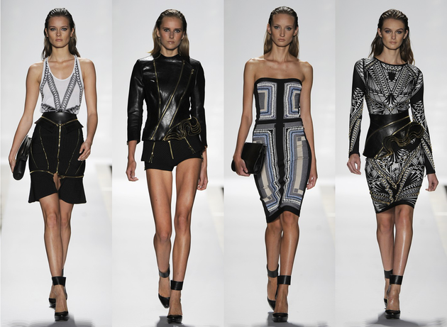 Herve Leger By Max Azria Spring 2014
