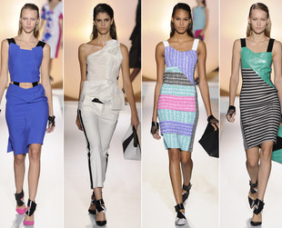 Have a look at the best spring 2014 looks from Lanvin, Nina Ricci, Manish Arora, Roland Mouret and Dior.