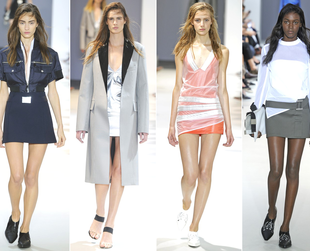 Check out the Balmain, Barbara Bui, Paco Rabanne, Bouchra Jarrar and Rick Owens spring 2014 lines.