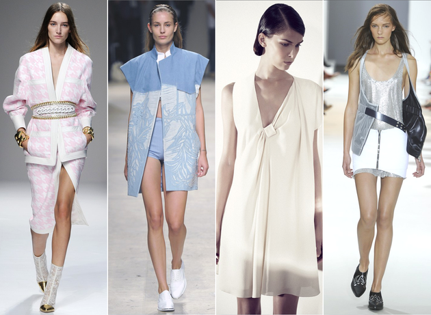 PFW Spring 2014 Trends: Oversized Coats, Boxy Shapes & Denim