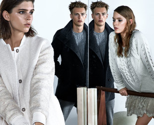 Feast your eyes on the cool new season outfits from the new Pull & Bear fall/winter 2013 campaign.