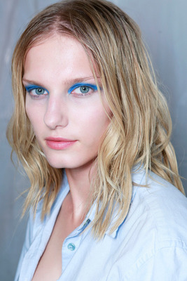 Blue Eye Makeup Looks Spring 2014