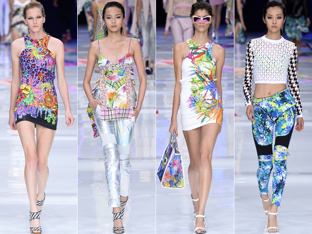 Just Cavalli Spring 2014 Collection