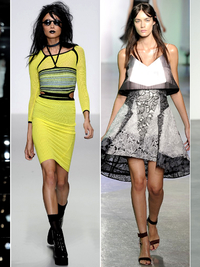 London Fashion Week Spring 2014 Trends: Modern & Upbeat