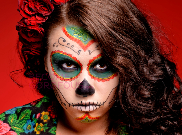 Halloween Sugar Skull Design