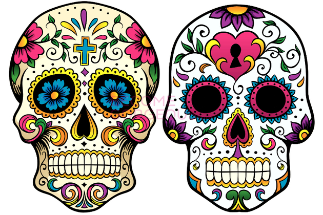 Sugar Skull Designs For Halloween