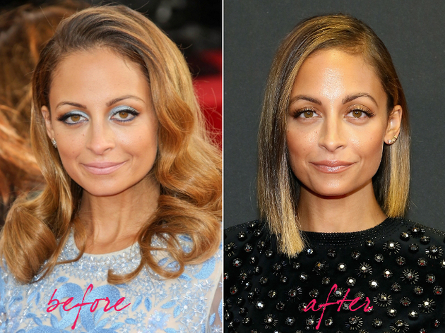 Nicole Richie Hair Makeover 2013