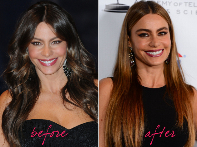 Sofia Vergara Hair Makeover 2013