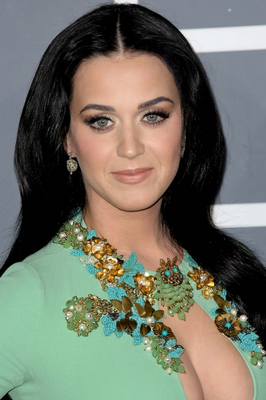 Katy Perry Brunette Hair Color