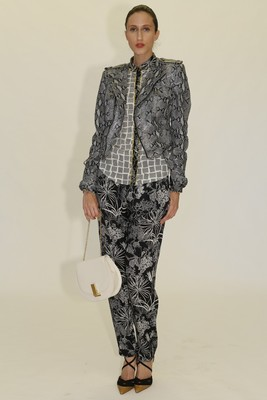 Printed Pant Outfit From Zac Zac Posen's Spring 2014 Collection