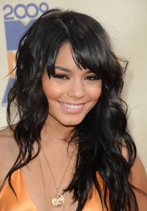 Medium Haircuts For Round Faces 2013 Hairs Picture Gallery