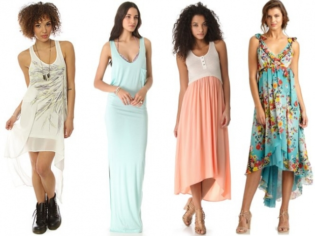 Maxi and Hi Lo Dresses for Petite Women
