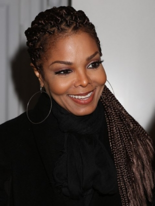 Janet Jackson Box Braids