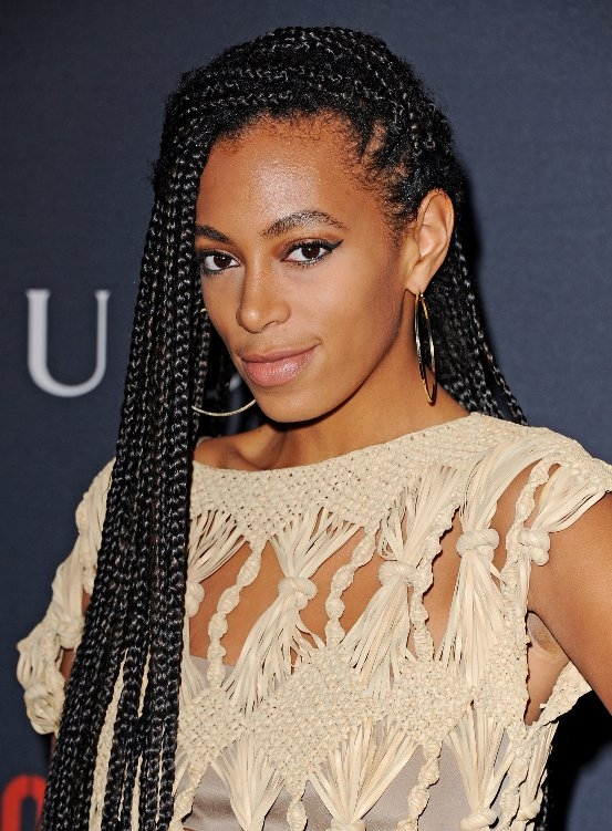 Hairstyle With Braids : 90s Hairstyle Trends: Box Braids