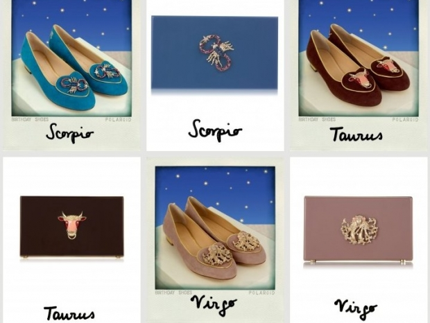 Charlotte Olympia Cosmic Shoe and Clutch Collection