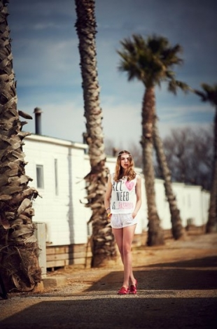 BSK Bershka April 2013 Lookbook