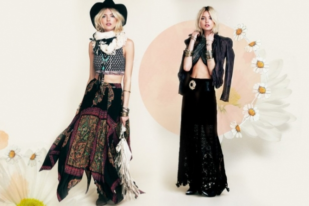 Free People Festival Flower Lookbook 2013