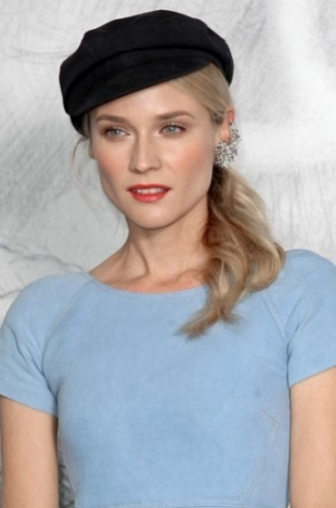 Diane Kruger is the Chanel Beauty Ambassador