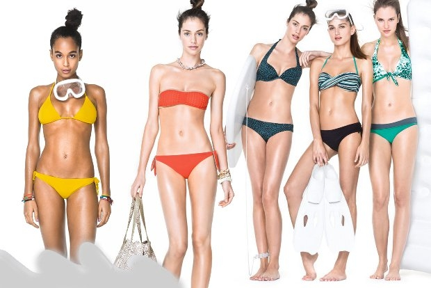 United Colors of Benetton Beachwear 2013 Collection.