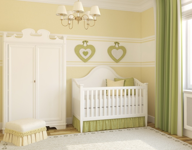 Baby room ideas for Simple nursery design