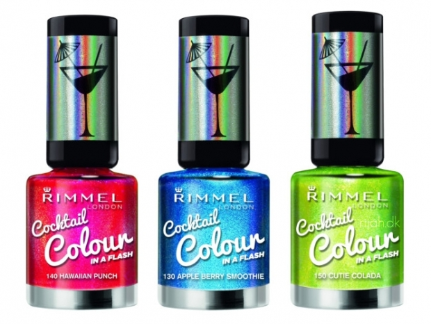 Rimmel London Cocktail Colour Nail Polishes